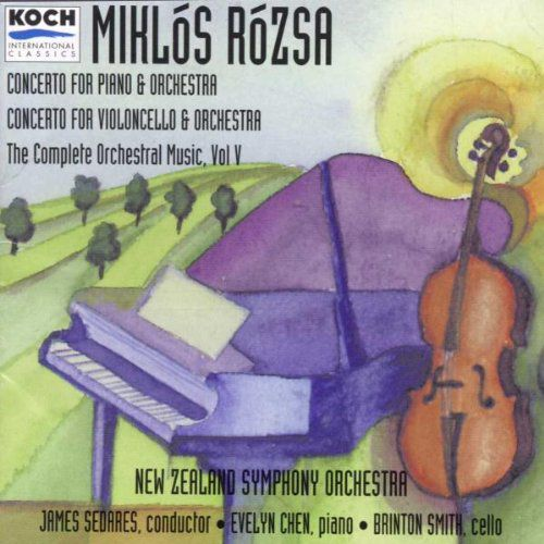 Miklós Rózsa Piano Concerto